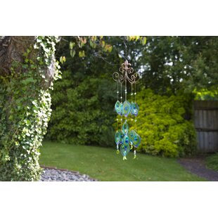 Ilkley Peacock Wind Chime. By Lynton Garden