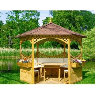 Wooden Gazebo Kit | Wayfair co uk