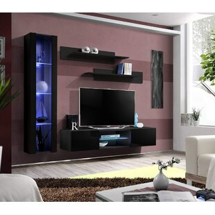 Letson Wall Mounted Floating Entertainment Center for TVs up to 70