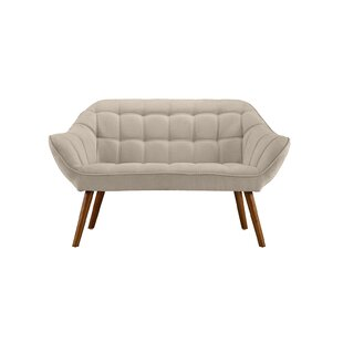 Herrald Modern Tufted Loveseat by Turn on the Brights