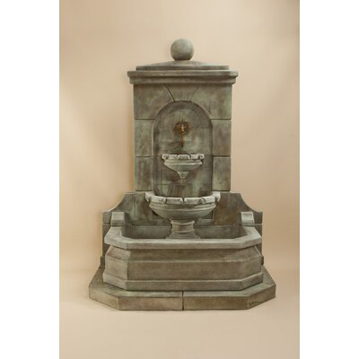 Acquitaine Concrete Wall Fountain Giannini Garden Ornaments