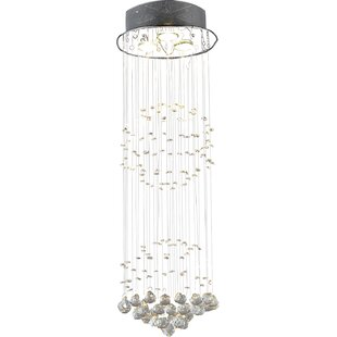 Warehouse of Tiffany Shower 3-Light Crystal Chandelier
