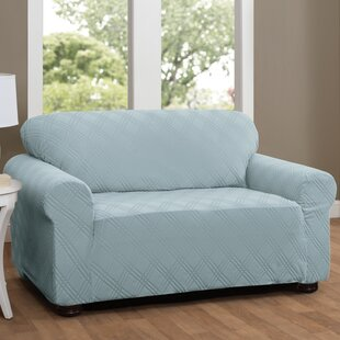 Comparison Double Diamond Sensations Box Cushion Sofa Slipcover by Red Barrel Studio Reviews (2019) & Buyer's Guide