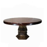 Bosse Solid Wood Dining Table by Fleur De Lis Living