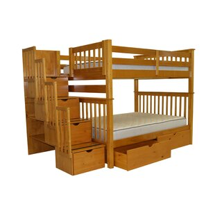 Tena Full over Full Bunk Bed with Extra Storage by Harriet Bee