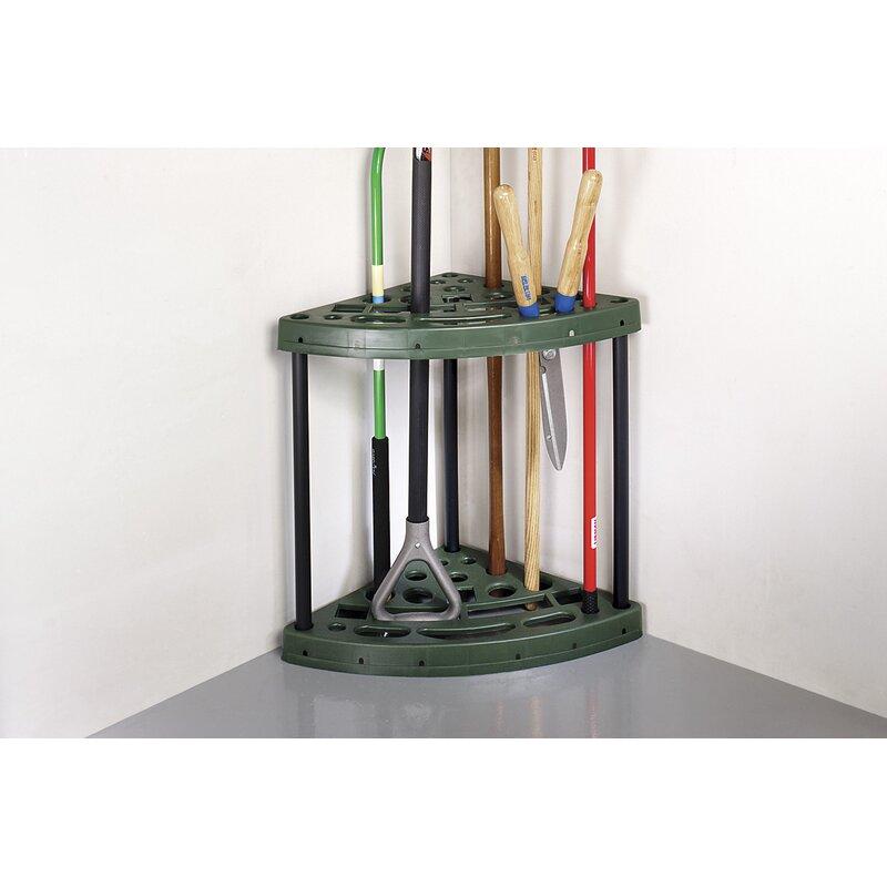 corner garden tool rack - Garden Tool Rack