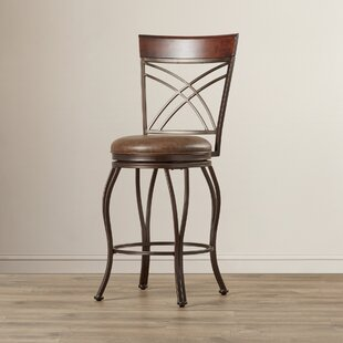 Capitol Swivel Bar Stool by Red Barrel Studio