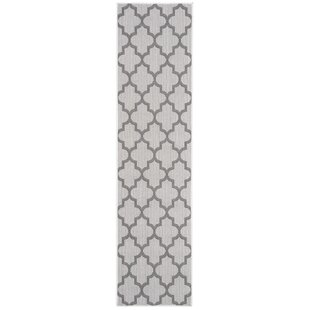 Hahn Gray/Ivory Indoor/Outdoor Area Rug