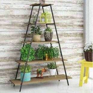 Amatia Pyramid Etagere Bookcase