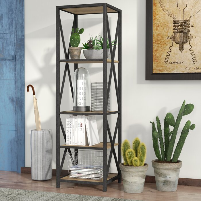 folding casual shelf x p the natural design bookcase bookcases home