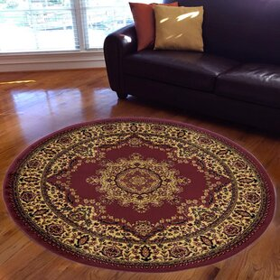 Northington Burgundy Area Rug By Astoria Grand