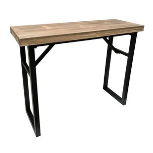 Gracie Oaks Calie Rectangle Console Table
