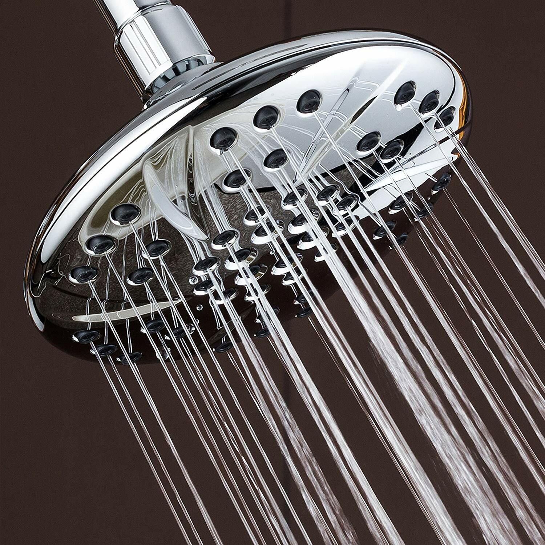 Aqde Large High Pressure Rain Fixed Shower Head Wayfair