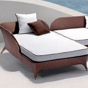 Flora Right Corner Daybed Sectional Piece with Cushion