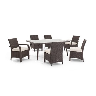 Domus Ventures Aurora 5 Piece Dining Set with Cushions
