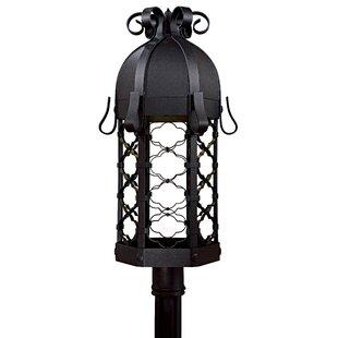 Outdoor 1-Light Lantern Head by Latitude Run