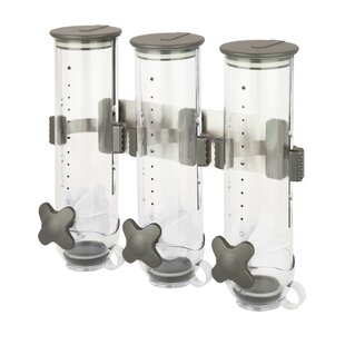 Triple 13 oz. 3 Container Cereal Dispenser