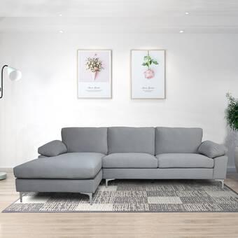 Red Barrel Studio Madrona 85 Left Hand Facing Sofa And Chaise Wayfair