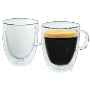 Etowah Double Wall Coffee Mug (Set of 2)