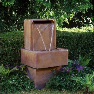 Concrete Mini Water Wall Fountain