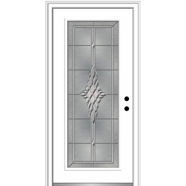 Verona Home Design Grace Steel Prehung Front Entry Door Wayfair