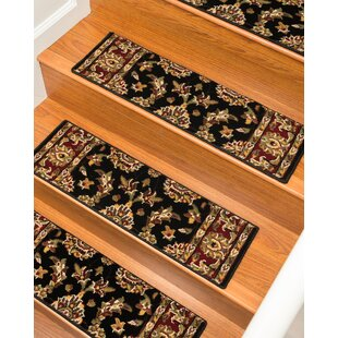Sydney Classic Persian Black Stair Tread (Set Of 13)