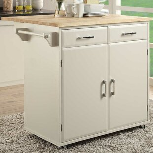 Morabito Kitchen Cart Ebern Designs