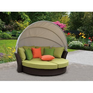 Linton Modern Outdoor Expandable Oval Daybed by Brayden Studio Discount