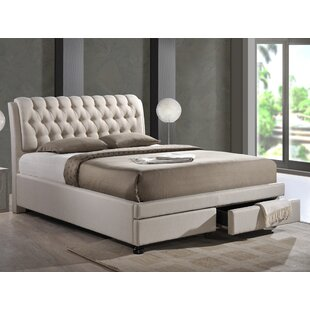 Arazia Upholstered Storage Platform Bed by House of Hampton