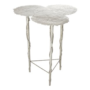 Trois Lily Pad End Table by Global Views