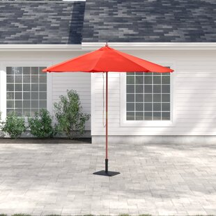 Amplas 2.7m Traditional Parasol By Sol 72 Outdoor
