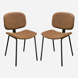 Tejada Upholstered Dining Chair (Set of 2) Williston Forge