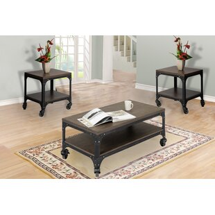 Ezra 3 Piece Coffee Table Set