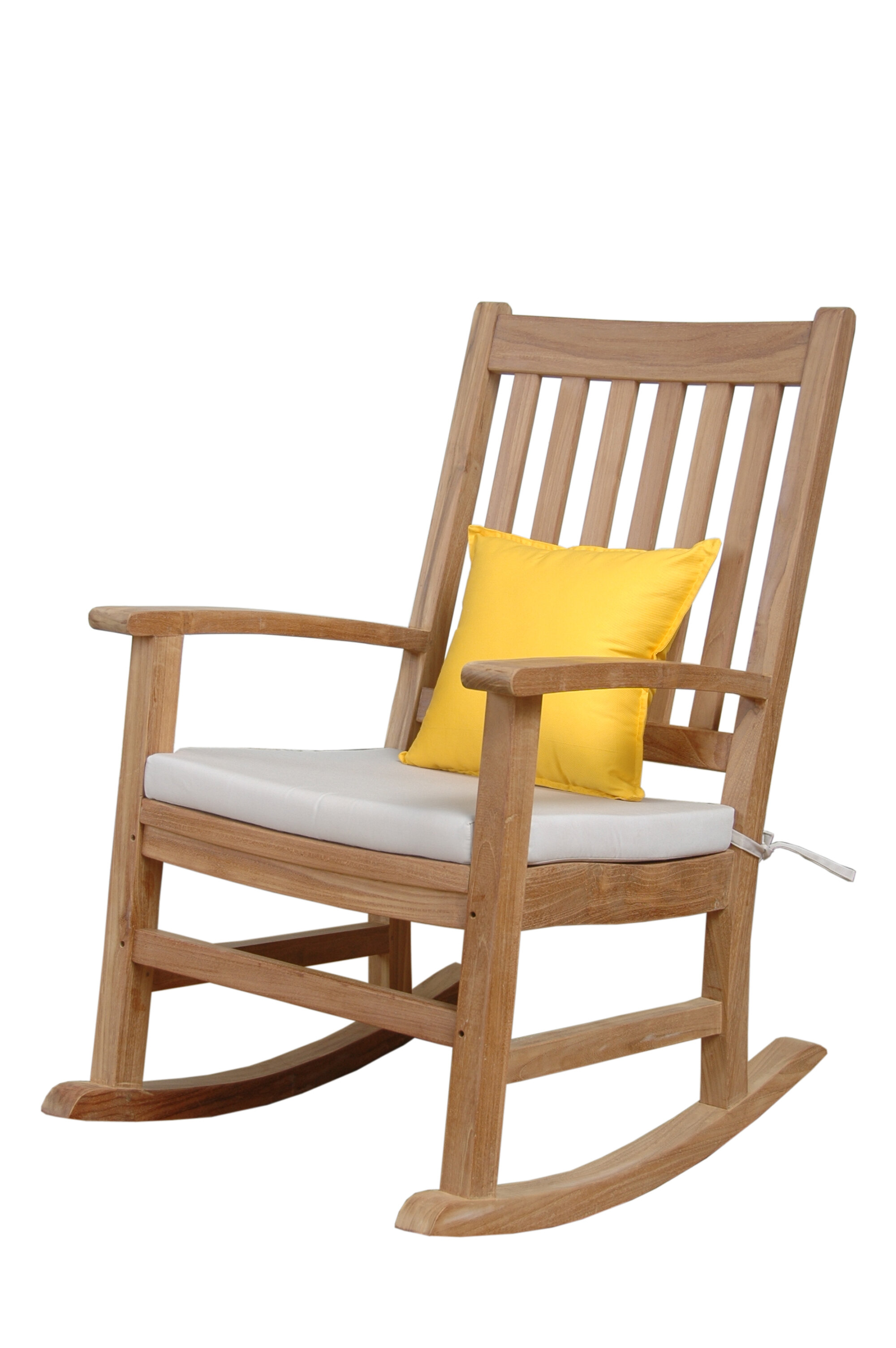 Anderson Teak Palm Beach Teak Rocking Chair | Wayfair