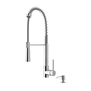 VIGO Laurelton Pull Down Single Handle Kitchen Faucet