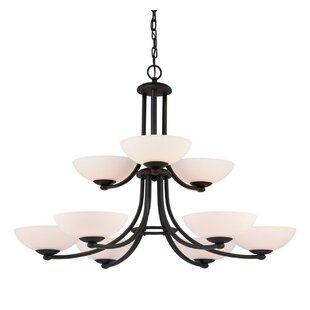 Dolan Designs Rainier 9-Light Shaded Chandelier