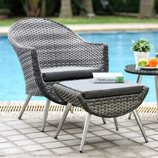 Corrigan Studio Dimitri Patio Chair with ..