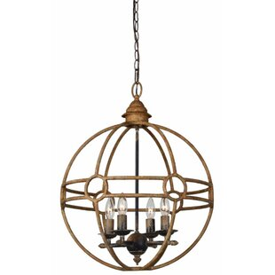 Millicent 4-Light Globe Ch..