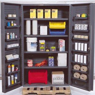 78 H x 48 W x 24 D Wide Welded Storage Cabinet by Quantum Storage