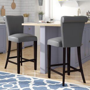 Comparison Crabb 24 Bar Stool (Set of 2) by Red Barrel Studio Reviews (2019) & Buyer's Guide
