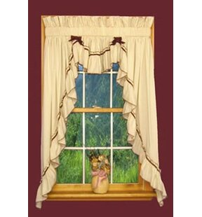 Bathroom Valance Curtains