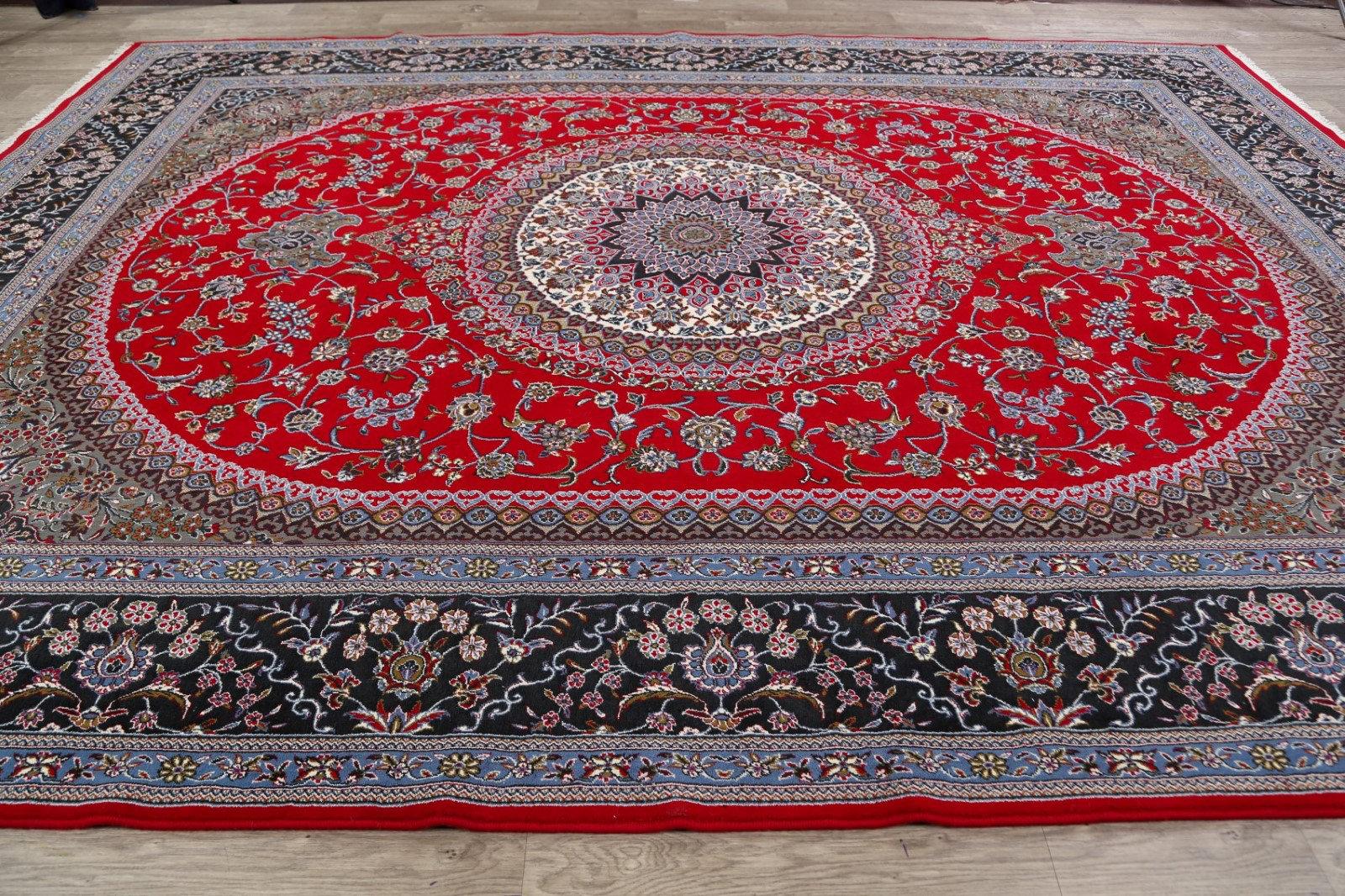 Rugsource Power Loom Red Blue Rug Wayfair