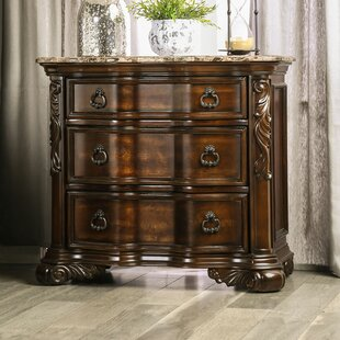 Castleberry 3 Drawer Nightstand by Astoria Grand