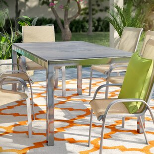 Horizon Stone/Concrete Dining Table by Home Loft Concepts