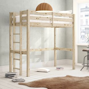 Free S&H Colburn European Single High Sleeper Bed