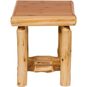 Cedar End Table by Firesid..