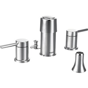 Moen Align Double Handle Vertical Spray Bidet Faucet