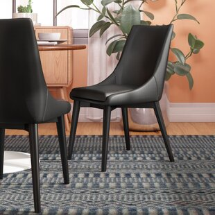 Minton Upholstered Dining Chair by Wade Logan