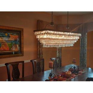 Dix 6-Light Crystal Chandelier by Willa Arlo Interiors