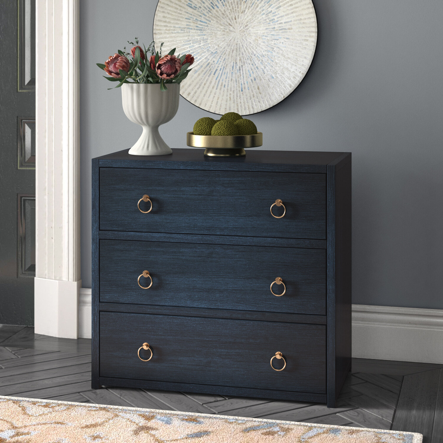 Clayford 3 Drawer Accent Chest Reviews Joss Main